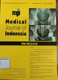 Image of Jurnal Kebidanan Tahun 2015 : Medical Journal Of Indonesia Vol. 24 Issue 3